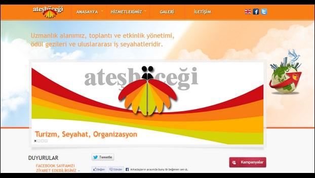 Nevura Web Tasarım Referansları : AteşBöceği Turizm