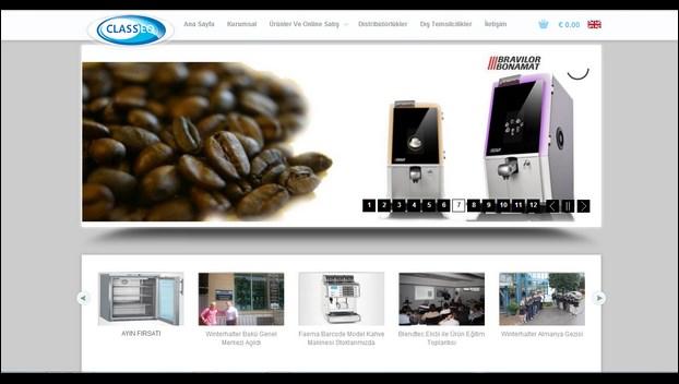 Nevura Web Tasarım Referansları : Classeq Mutfak Ekipmanları