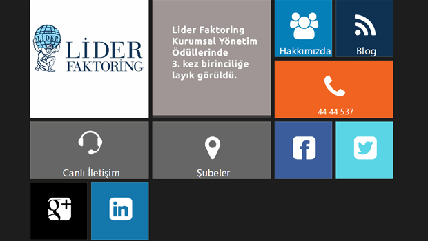 Nevura Web Tasarım Referansları : Lider Faktoring