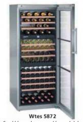 Wtes 5872 Sıcaklık Ayarlı Şarap Saklama Dolabı